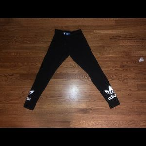 Black Adidas leggings